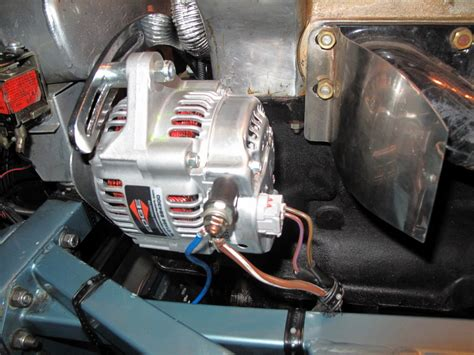 Alternator- Lightweight With Integrated Regulator