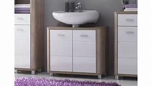 Eckiges Waschbecken Mit Unterschrank : waschbecken unterschrank vital sonoma eiche und wei ~ Bigdaddyawards.com Haus und Dekorationen