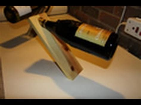 woodworking projects magic wine bottle holder youtube
