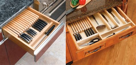 kitchen knife drawer organizer designing for knife storage part 2 beyond knife blocks 5288