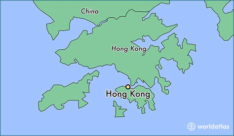 hong kong hong kong hong kong map