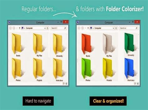 How To Colorize Folders With Different Colors In Windows