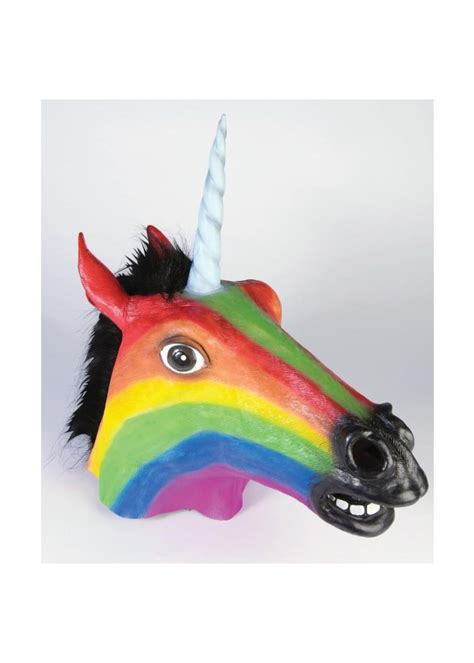 rainbow unicorn mask masks