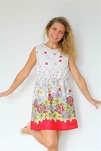Women's Gathered waist summer dress pattern