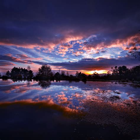 Ml15-sunset-lake-night-blue-dark-nature