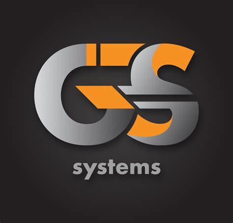 modern  restaurant logo design  gs systems