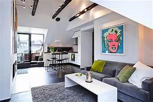 Einrichtung Kleine Wohnung : 140 bilder einzimmerwohnung einrichten ~ Watch28wear.com Haus und Dekorationen