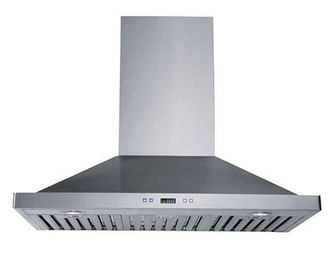 sortie hotte cuisine hotte de cuisine cheminee hotte de cuisine de type cheminée en acier inoxydable 450 pi3 min3