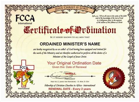 certificate of wiccan ordination template free sle ordination certificates hawk s cry wiccan