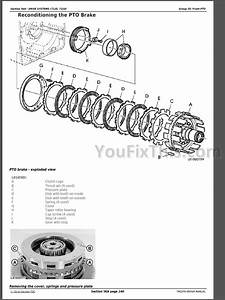 John Deere 7220 7320 7420 7520 Repair Manual  Tractors