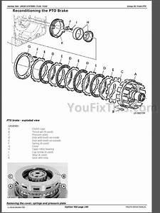 John Deere 7220 7320 7420 7520 Repair Manual  Tractors