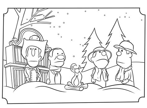 Why Do We Call It Christmas Coloring Pages Jellytelly