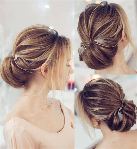 les  belles idees de coiffures de mariage tendance