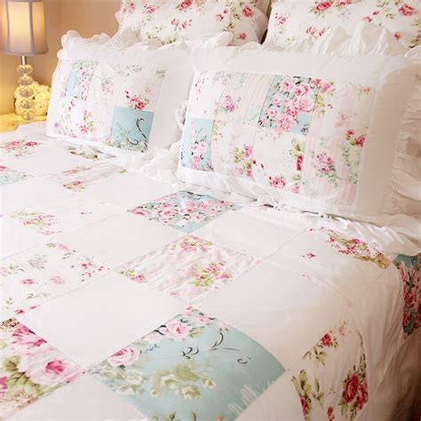 floral quilt bedding shabby chic bedding