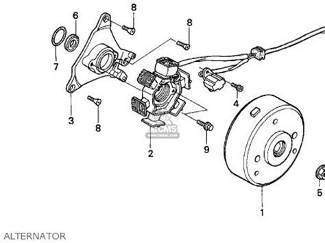 honda xr100r 1993 usa parts list partsmanual partsfiche