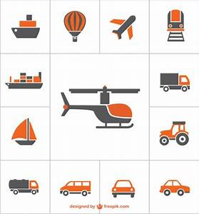Transportation icons vector free Vector | Free Download