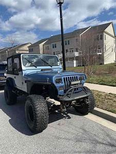1988 Jeep Wrangler Suv Blue 4wd Manual For Sale