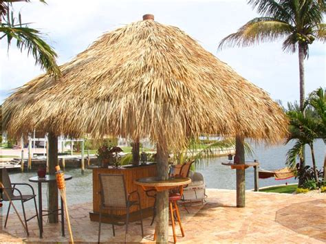 Grass Hut Roof by Tiki Roof Tiki Shack Importer