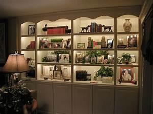 bookshelf lighting - 28 images - bookcase lighting