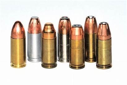 9mm Luger Bullet Shapes Ammo Pistol Nato