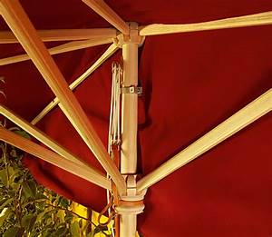 weishaupl halbschirm 200x400 holzgestell sonnenschirm art With französischer balkon mit sonnenschirm wasserfest