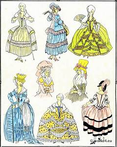 les modes sous louis xvi 1774 1789 costume history With sous robe chair