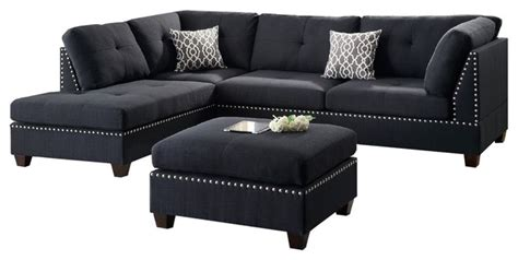 modern dining room lights hillsdale sectional sofa set black contemporary
