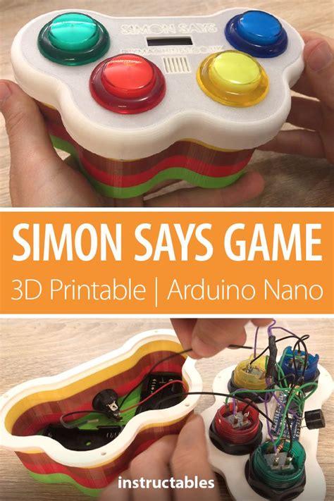 Simon Says Game - 3D Printable | Arduino Nano | DIY ...