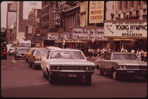 Times Square In The 1970s Grindhouses, Peep Shows And Xxx