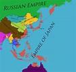 The Greater Empire of Japan : imaginarymaps