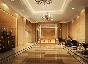 Hotel foyer design 3D house, Free 3D house pictures and