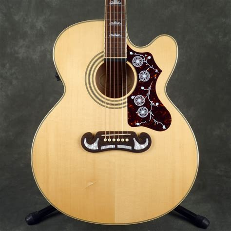 Epiphone EJ-200CE Electro-Acoustic Guitar - Natural - 2nd ...