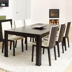Table 6 Personnes : dimensions d 39 une table pour 2 4 6 ou de personnes 4 pieds tables chaises et tabourets ~ Teatrodelosmanantiales.com Idées de Décoration