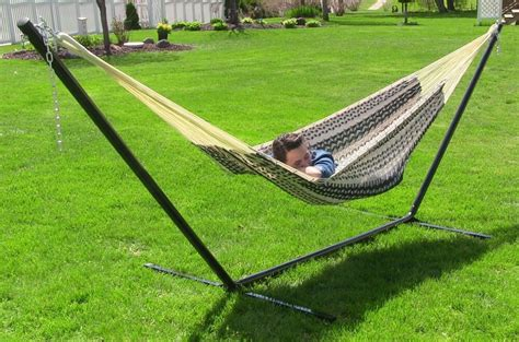 Two Person Hammock Cing by Large 2 Person 13 Foot Hammock With Stand Free