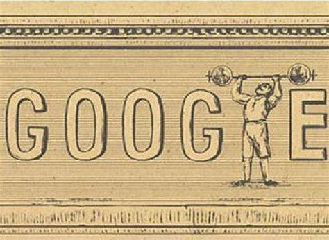 les jeux olympiques modernes 224 l honneur sur comment sont cr 233 233 s les doodles
