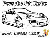 Coloring Pages Porsche 911 Race Gt Street Cars Difficult Printable Corvette Boys Gt3 Realistic Front Yescoloring Rear Racecar Gusto Ta sketch template
