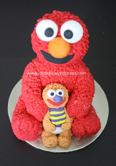 elmo cake   year  boy jocakes