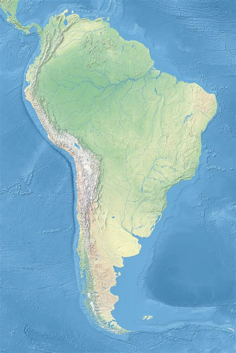 political map  south america  px nations
