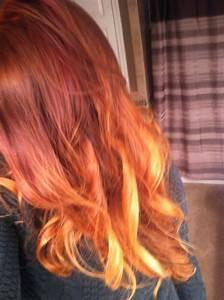 Ombré Hair Auburn : auburn red ombre hair color coiffure pinterest red ombre hair auburn red and ombre hair color ~ Dode.kayakingforconservation.com Idées de Décoration
