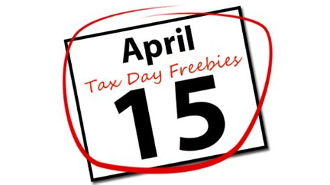 tax day freebies  deals frugal philly mom blog