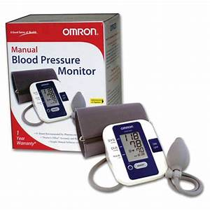 Blood Pressure Monitormanual Inflation Omron