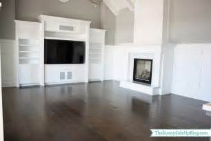 hardwood flooring the side up