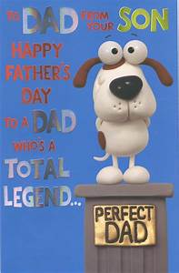 To Dad From Son Happy Father 39 S Day Card Cards Love Kates
