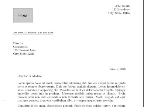 closing document graphics letterhead how to position images in top left