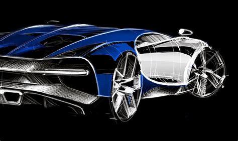 2015 | bugatti chiron | design by sasha selipanov | source. SASHA SELIPANOV | Car design sketch, Bugatti, Automotive ...