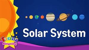 Kids vocabulary - Solar System - planets - Learn English ...