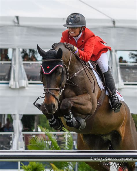 Ilan Ferder by Canadian Show Jumping Team Fifth In 290 000 Longines