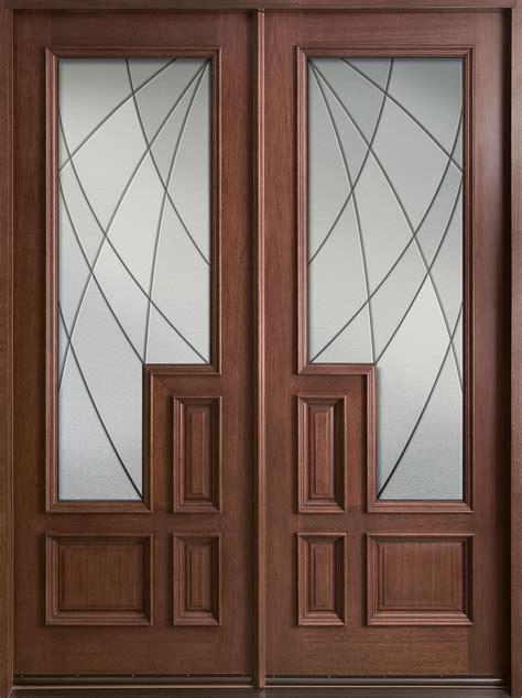 modern main double door modern front door custom double