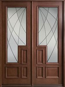 Inspiring Double Fiberglass Entry Door As Furniture For ...