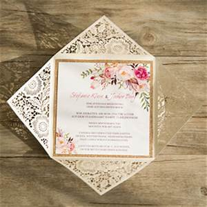 best 10 wedding invitations with matched wedding color With red and gold glitter wedding invitations